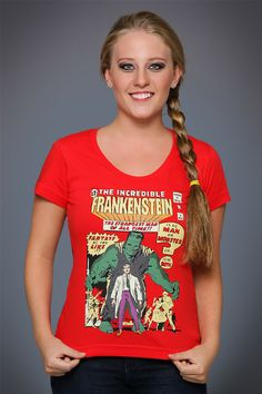 Camiseta The Incredible Frankenstein tee