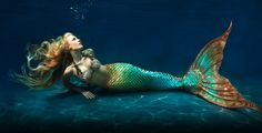 """Ever since I was a child, I have had an unrealistic fantasy of being a mermaid. When other little girls wanted to be princesses, I always wanted to be a mermaid. This tail is made by Eric Ducharme, also known as """"The Mertailor,"""" and one day when I have the money, I am going to buy it. It costs $2,250. I'm not spending that money on a fish tail, though. I'm spending it to make a childhood fantasy real. You can swim in it and he sells tops too, which is just incredible. I can't wait!"""