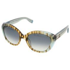 Dsquared Blue Bamboo Cateye sunglasses