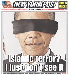 New York Post 2/19/15. Obama's take on Islamic terrorism..