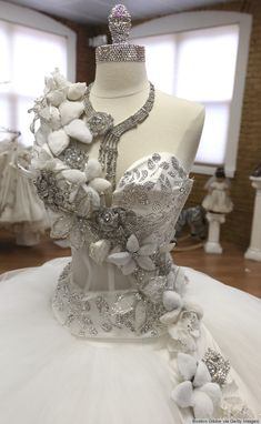 sondra celli 80-Pound Wedding Dresses Bedazzled In Jewels? This Gypsy Designer Has Seen It All