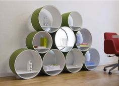 for the new house, except smaller concrete tubing & secured to the wall