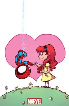 Amazing Spider-Man - Renew Your Vows variant cover by Skottie Young *