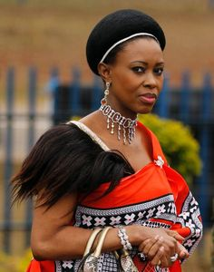 Queen of Swaziland. Queen of Swaziland African Beauty, African Women, African Fashion, African Culture, African American History, Beautiful Black Women, Beautiful People, Black King And Queen, Afro