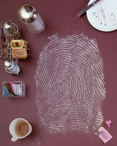 Giant Fingerprints Made of Everyday Materials - Kevin Van Aelst