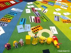 Hääräämö: Lukumäärämetsästys eskarissa Math Stem, Math Numbers, Math For Kids, Pre School, Kids Rugs, Education, Games, Children, Teaching Ideas