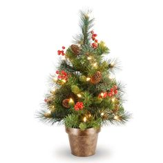tiny miniature trees crestwood small artificial christmas tree at brookstonebuy now small