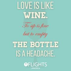 Love is like wine #Vinoteca #Flights #Wine #Love #WeLoveWine