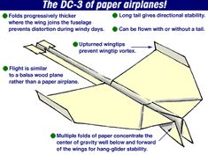 Build the Best Paper Airplane in the World by zurcoi.com #Paper_Airplane #zircoi