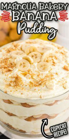 Homemade Banana Pudding, Banana Pudding Recipes, Nilla Wafer Banana Pudding, Banana Pudding Cheesecake, Bannana Pudding, Banana Trifle, Pudding Ideas, Banana Dessert Recipes, Just Desserts
