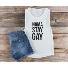Gay Pride Shirt Love Is Love Lgbt Shirt Muscle Tank Muscle Tee Gay... ($25) ❤ liked on Polyvore featuring tops, grey, tanks, women's clothing, christmas shirts, layering tanks, muscle t shirts, pattern shirt and rainbow tank top