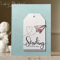 Sending Lots of Love by Lucy Abrams