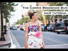Carrie Bradshaw Bun
