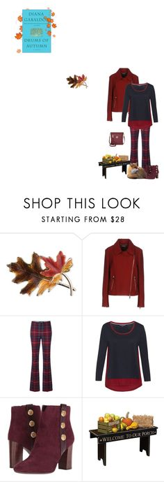 """Drums of Autumn by Diana Gabaldon"" by fashionqueen76 ❤ liked on Polyvore featuring Anne Klein, Tommy Hilfiger, DutchCrafters and books"