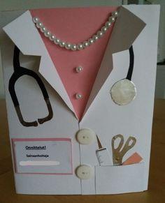 Krankenschwester - #Krankenschwester Diy And Crafts, Crafts For Kids, Paper Crafts, Cute Cards, Diy Cards, Wedding Cards Handmade, Shaped Cards, Get Well Cards, Creative Cards