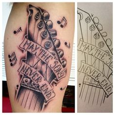Guitar tattoo drawing tattoo ideas pinterest tattoo for Country music tattoos