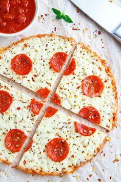 No Crust Pepperoni Pizza
