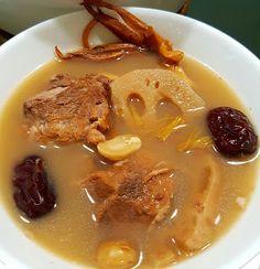 Ah Gim's Playground: Lotus Root Pork Rib Soup 莲藕汤