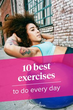 10 Best Exercises for Everyone Physical Fitness, Yoga Fitness, Fitness Tips, Physical Exercise, Fitness Routines, Fitness Exercises, Health Tips, Health And Wellness, Health Fitness