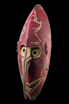 Máscara de un ser espiritual Papúa Nueva Guinea - Sepik 15,9 pulgadas