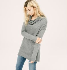 Lou & Grey Tunic Sweater   Loft