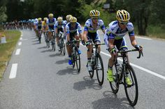 Stuart O'Grady of Australia and Team Orica Greenedge rides at the front of the team protecting Simon Gerrans of Australia in the yellow jersey during stage five of the 2013 Tour de France, a 228.5KM road stage from Cagnes-sur-mer to Marseille, on July 3, 2013 in Marseille, France. (Photo by Doug Pensinger/Getty Images)