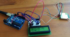 GPS on Arduino with LCD