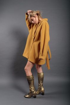 Dip Dye, Fall Winter, Wool, Sweaters, Red, Jackets, Clothes, Collection, Dresses