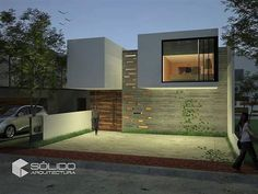 Casa habitación Garage Doors, Outdoor Decor, Home Decor, Minimalist Home, Trendy Tree, Interiors, Houses, Decoration Home, Room Decor