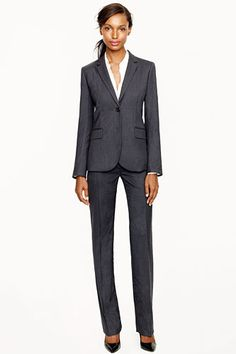 J.Crew 1035 Jacket, $240, available at J.Crew; J.Crew 1035 Trouser, $140, available at J.Crew.