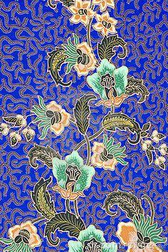Image of Indonesian batik sarong pattern.