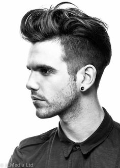 Mens Hair Style Short Sides. A little more extreme than what I'd normally do!