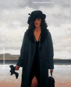 Jack Vettriano Still Dreaming painting gallery, painting - $3,000.00 Authorized official website