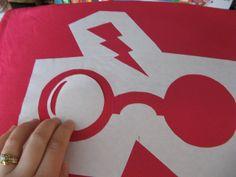 harry potter freezer paper stencil by 935heidi, via Flickr