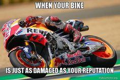 Marc Márquez stürzte in Le Mans und wurde wieder von den Fans ausgebuht @marcmarquez93 #MotoGP #LeMans #Frankreich #France #LeMans2016 #FrenchGP #MarcMarquez #Marquez #MM93 #RepsolHonda #Repsol #Honda #RC213V #HondaRC213V #HondaRacingCorporation #HRC #Sturz #Unfall #Crash #Ruf #Reputation #CircuitBugatti #Racing #Meme #Memes #RacingMeme #RacingMemes by _ncp56