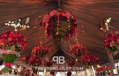 autumn, flowers, floral statements, floral chandeliers, chandeliers, chandelier, preston bailey, preston bailey designs, preston bailey even...