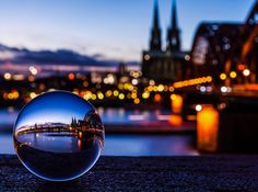 °Cologne Cathedral in a Crystal by Vivian J-Dora
