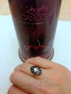 Countdown to the Gift Guide: Jewelry in Candles by Debbie