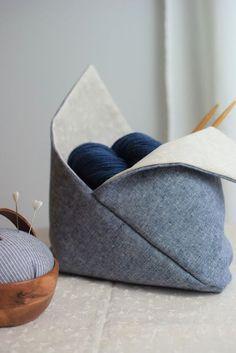 Bentobag - wie aus einem einfachen Rechteck eine schöne Aufbewahrung wird