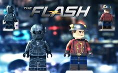 "LEGO CW : Zoom & ""Jay Garrick"" 