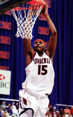 Carmelo Anthony with Syracuse