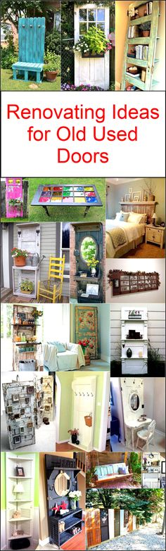 Renovating Ideas for Old Used Doors