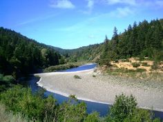 I used to spend my vacations every year, growing up and in later years too, along the Eel River. It is so beautiful.