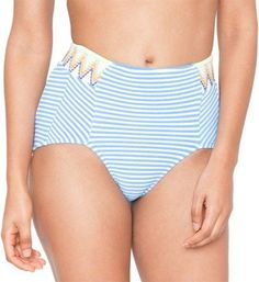 Seea Women's Arcadia High Waist Swimsuit Bottoms Eden L