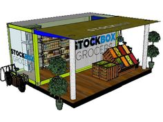 Stockbox Grocers to Convert Shipping Containers into Local Grocery Stores in Food Deserts