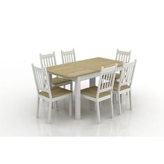 Chelsea Oak Cream Extending Dining Table With Cavendish Chairs