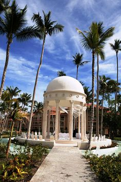 wedding gazebo at majestic elegance resort in punta cana dominican republic
