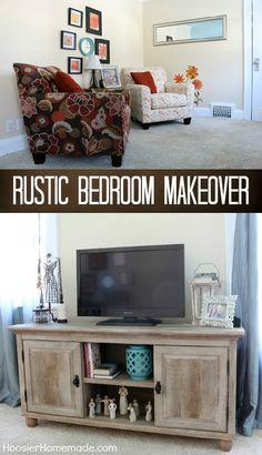 Rustic Bedroom Makeo