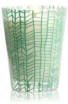 Illume candle - love the glass design