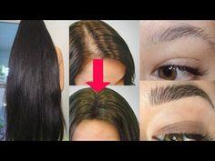 """Receta """"mágica"""" con 3 ingredientes para hacer crecer el pelo más rápido! - YouTube"""